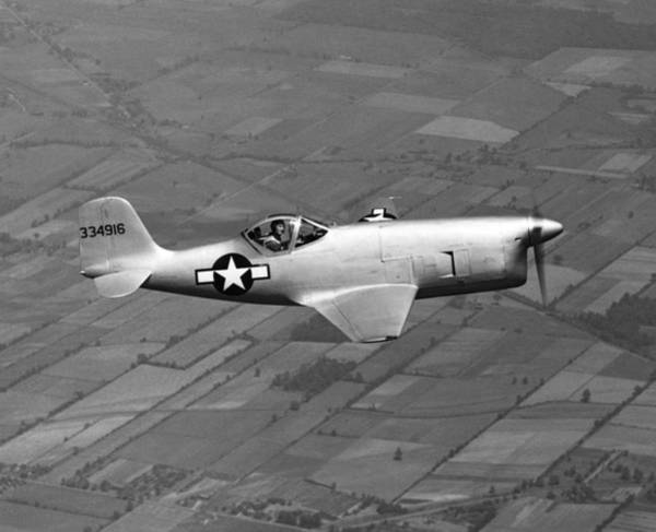 Photograph - Bell Aircraft Xp-77 by Underwood Archives