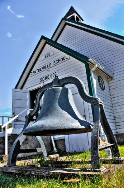 Photograph - Bell Of The One Room School House by David Matthews