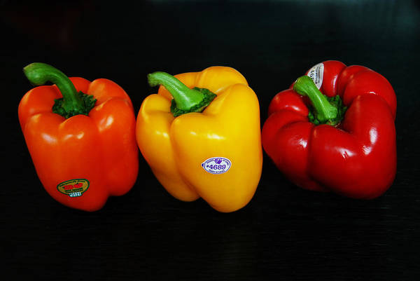 Photograph - Bell Peppers  by Dragan Kudjerski