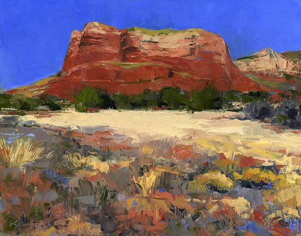Flagstaff Painting - Bell Rock Trail by Jennifer Kane