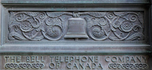 Photograph - Bell Telephone Art Deco by Andrew Fare