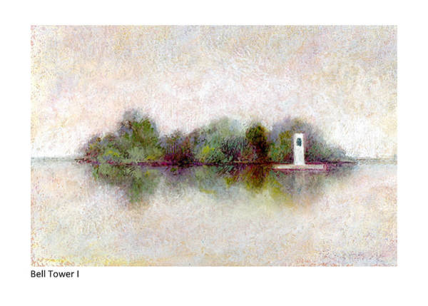 Pastel - Bell Tower I by Betsy Derrick