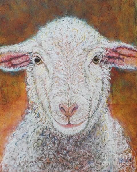 Wall Art - Pastel - Bella At Snickerhaus Farm by Christine Belt