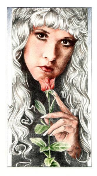 Drawing - Bella Donna by Johanna Pieterman