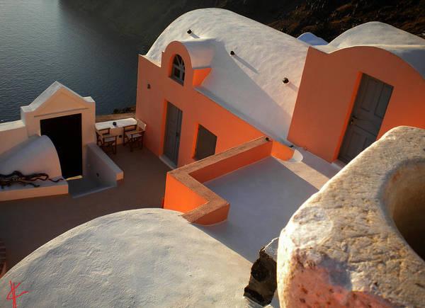 Photograph - Bella Santorini Hause by Colette V Hera  Guggenheim