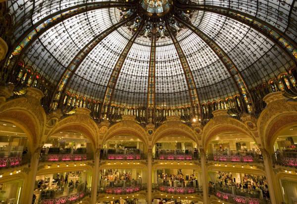 Galeries Lafayette Photograph - Belle Epoque Rotunda by Mark Harmel