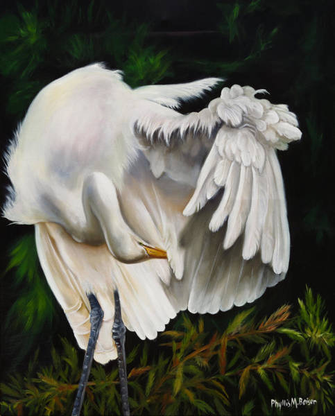 Wall Art - Painting - Belle Oiseau by Phyllis Beiser