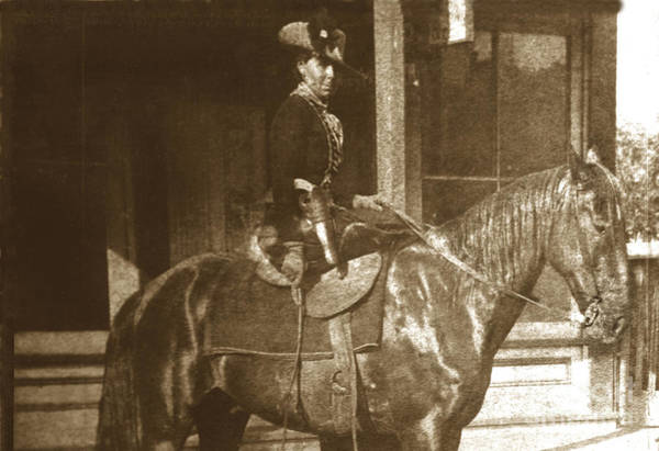 Photograph - Belle Starr Belle Starr Fort Smith Arkansas 1886 by California Views Archives Mr Pat Hathaway Archives