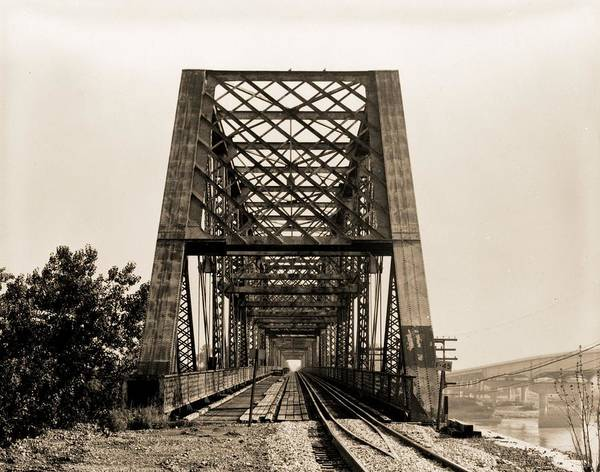 Photograph - Bellefontaine Bridge St. Louis by Dan Sproul