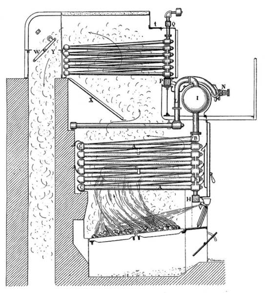 Boiler Photograph - Belleville Boiler by Science Photo Library