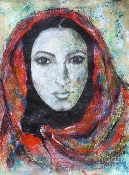 Latina Painting - Belleza Latina by Marcia Davis