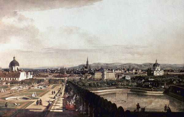 Wall Art - Painting - Bellotto Vienna, 1760 by Granger