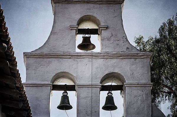 Bell Photograph - Bells Of Mission San Diego Too by Joan Carroll