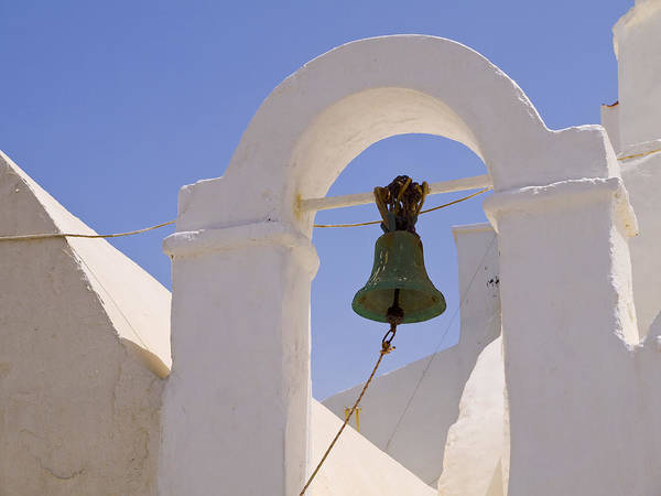Photograph - Belltower In Mykonos by Brenda Kean