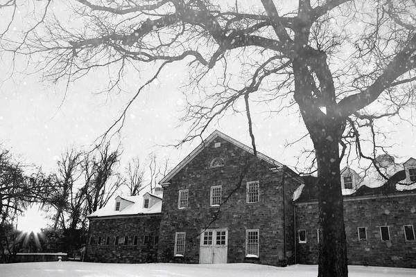 Photograph - Belmont In The Snow by Alice Gipson
