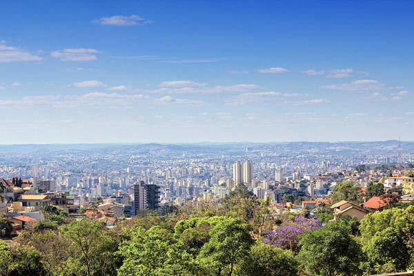 Capital Cities Photograph - Belo Horizonte by Antonello