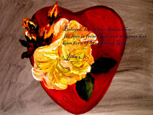 Start Over Painting - Beloved by Amanda Dinan