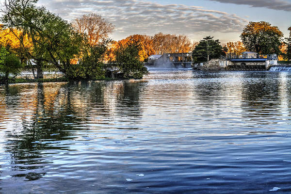 Wall Art - Photograph - Below The Mchenry Dam At Sunrise by Roger Passman