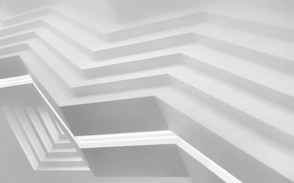 German Photograph - Below The Stairs by Jeroen Van De