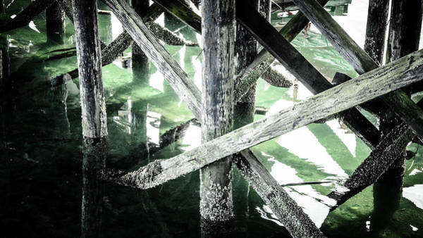 Photograph - Below The Wharf by Roxy Hurtubise
