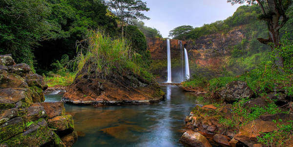 Photograph - Below Wailua Falls by Ryan Smith