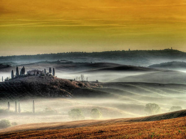Tuscany Photograph - Belvedere - Tuscany by Helmut Plamper