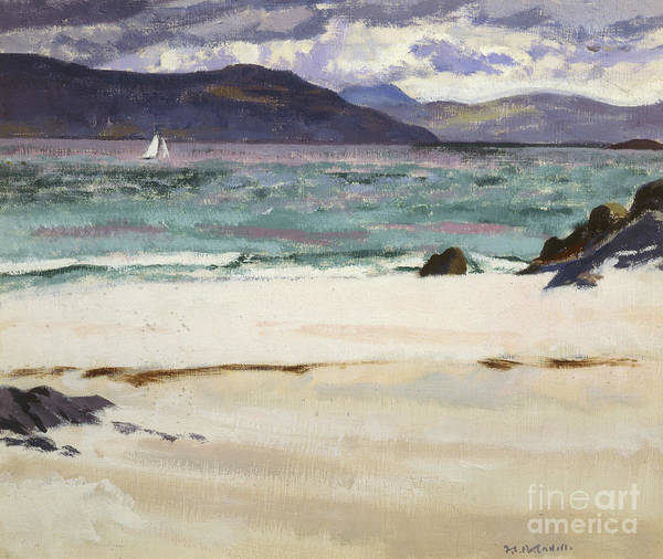 Francis Painting - Ben Bhuie From The North End   Iona by Francis Campbell Boileau Cadell