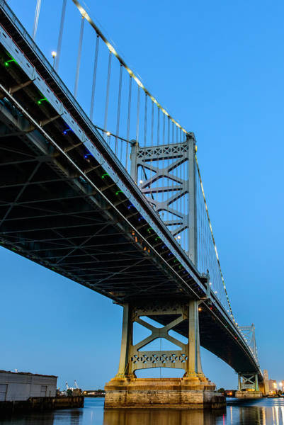 Photograph - Ben Franklin Bridge by Louis Dallara