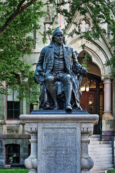 Declaration Of Independence Photograph - Ben Franklin by John Greim/science Photo Library