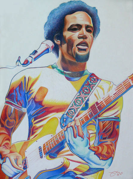 Wall Art - Drawing - Ben Harper by Joshua Morton