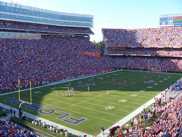 Gainesville Photograph - Ben Hill Griffin Stadium by Georgia Fowler