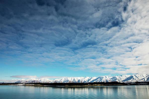 Ohau Wall Art - Photograph - Ben Ohau Mountain Range by Oliver Strewe