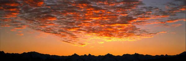 Ohau Wall Art - Photograph - Ben Ohau Mtn Range S Canterbury New by Panoramic Images
