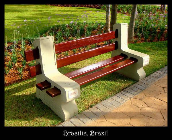 Photograph - Bench 06 by Roberto Alamino