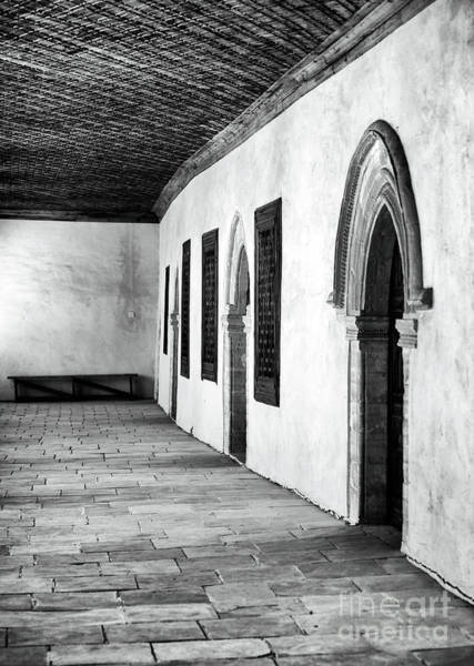 Wall Art - Photograph - Bench At The End Of The Hall by John Rizzuto