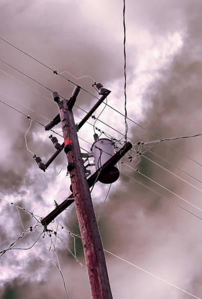 Photograph - Beneath A Greater Power 2013 by James Warren