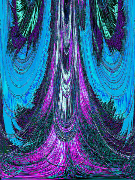 Digital Art - Beneath The Wizard's Gown by Donna Proctor