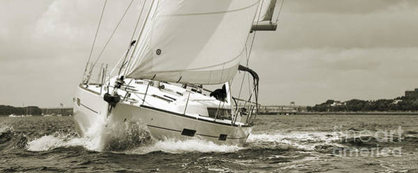 Wall Art - Photograph - Beneteau Oceanis 45 Hull #1 by Dustin K Ryan