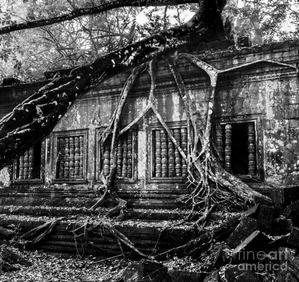Photograph - Beng Mealea Ruins by Julian Cook