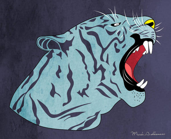 Cool Cat Digital Art - Bengal by Mark Ashkenazi