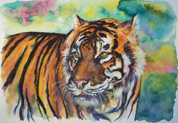Painting - Bengal Tiger by Christy Freeman Stark