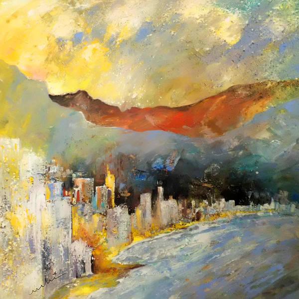 Benidorm Wall Art - Painting - Benidorm 01 by Miki De Goodaboom