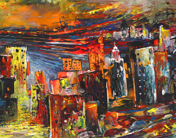 Benidorm Wall Art - Painting - Benidorm 03 by Miki De Goodaboom
