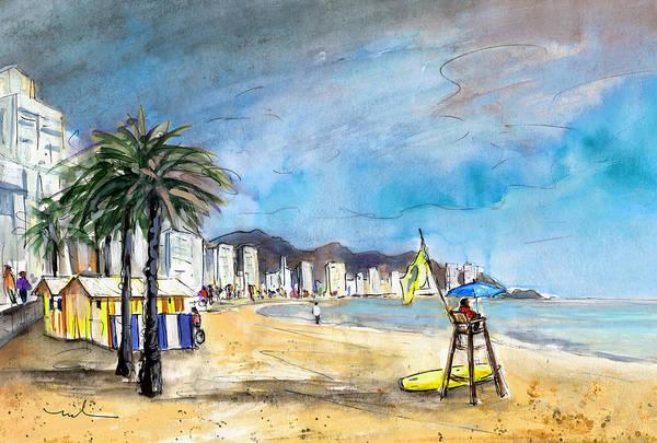 Benidorm Wall Art - Painting - Benidorm Levante by Miki De Goodaboom