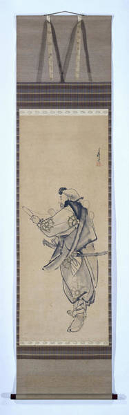 Bald Eagles Drawing - Benkei, Migita Toshihide by Litz Collection