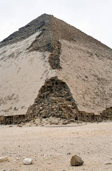 Wall Art - Photograph - Bent Pyramid by Pascal Goetgheluck/science Photo Library