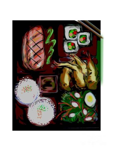 Painting - Bento by Lisa Owen-Lynch