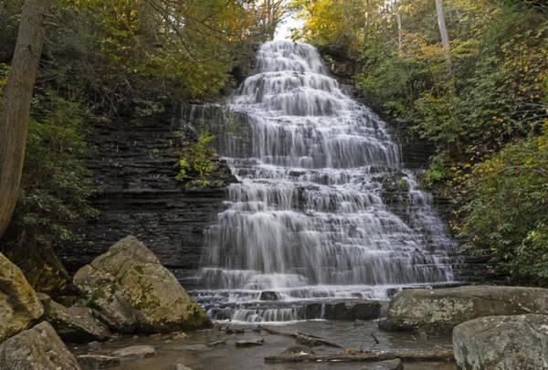 Photograph - Benton Falls by Lynn Bauer