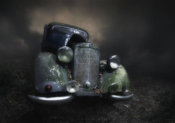 Old Car Wall Art - Photograph - Benz by Holger Droste