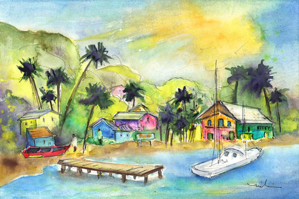 Painting - Bequia 01 by Miki De Goodaboom
